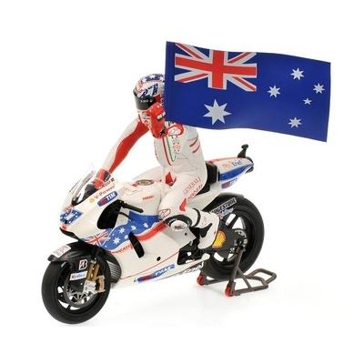 """Ducati Desmosedici """"GP. Australia"""" Casey Stoner (2009) Minichamps 1/12"""