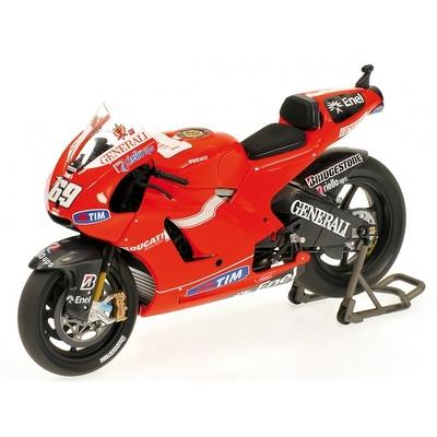 Ducati Desmosedici GP10 nº 69 Nicky Hayden (2010) Minichamps 1/12