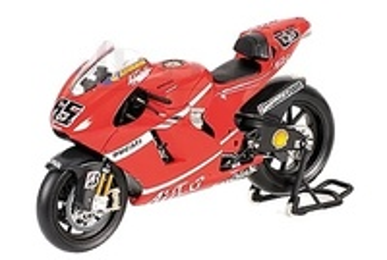 Ducati Desmosedici nº 65 Loris Capirossi (2007) Minichamps 1/12