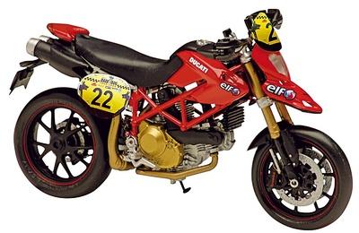 Ducati Hypermotard TDF nº 22 (2008) Solido 1/18