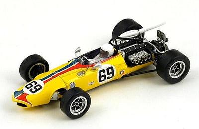 """Eagle T1F (T1G AAR101) """"GP Canadá"""" nº 69 Victor Al Pease (1969) Spark 1/43"""