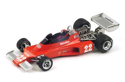 "Ensign N176 ""GP. Francia""  nº 22 Patrick Nève (1976) Spark 1:43"