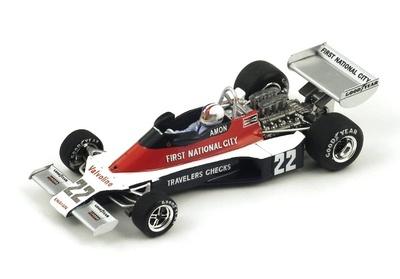 "Ensign N176 ""GP. Gran Bretaña"" nº 22 Chris Amon (1976) Spark 3952 1:43"
