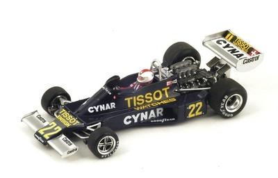 "Ensign N177 ""GP. Argentina"" nº 22 Clay Regazzoni (1977) Spark 1:43"