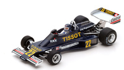 "Ensign N177 ""GP. Mónaco"" nº 22 Jacky Ickx (1977) Spark 1/43"