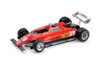 "Ferrari 126 C2 ""3º GP. Italia"" nº 28 Mario Andretti (1982) Brumm 1/43"