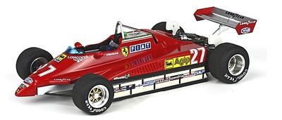 "Ferrari 126 C2 ""GP. San Marino"" nº 27 Gilles Villeneuve (1982) BBR 1/43"