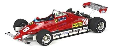 """Ferrari 126 C2 """"GP. San Marino"""" nº 28 Didier Pironi (1982) BBR 1/43"""