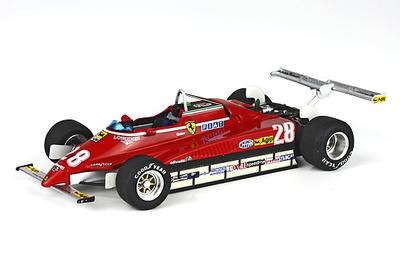 "Ferrari 126 C2 ""GP. USA West"" nº 28 Didier Pironi (1982) BBR 1/43"
