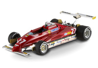 "Ferrari 126 C2 ""GP. USA"" nº 27 Gilles Villeneuve (1982) Hot Wheels 1/43"