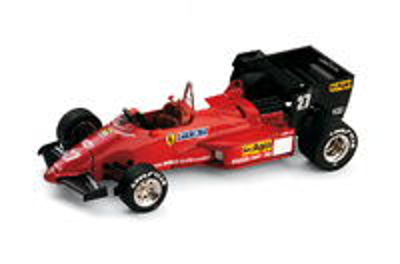 "Ferrari 126 C4 ""1º GP. Bélgica"" nº 27 Michele Alboreto (1984) Brumm 1/43"