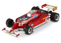 "Ferrari 126 CK ""GP. Mónaco"" nº 21 Gilles Villeneuve (1981) Hot Wheels 1/43"