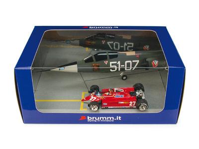 Ferrari 126 CK Turbo Duelo Gilles Villeneuve - F104 (1981) Brumm 1/43