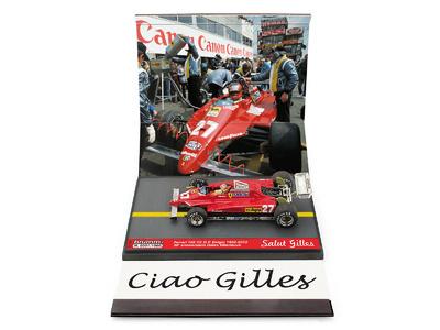 "Ferrari 126C2 ""GP. Bélgica"" nº 27 Gilles Villeneuve (1982-2012) Brumm 1/43"