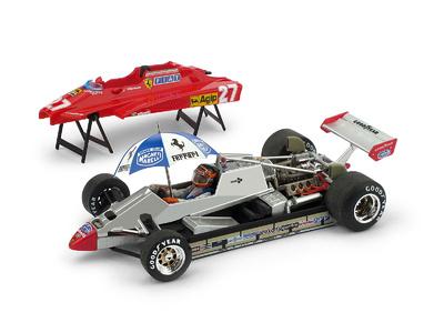 "Ferrari 126C2 turbo ""GP. San Marino"" nº 27 Gilles Villeneuve (1982) Brumm 1:43"