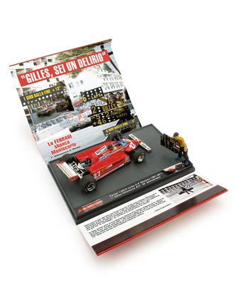 "Ferrari 126CK ""GP Mónaco"" nº 27 Gilles Villeneuve + Mecanico (1981) Brumm 1/43"
