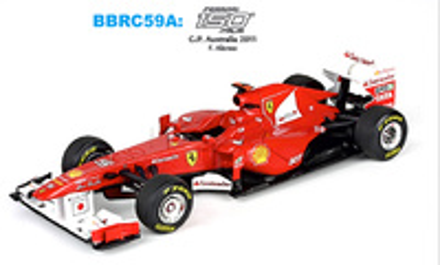 "Ferrari 150 ""GP. Australia"" nº 5 Fernando Alonso (2011) BBR 1/43"