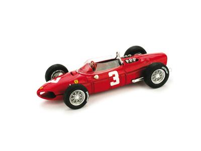 "Ferrari 156 F1 ""1º GP Holanda"" nº 3 Wolfgang Von Trips (1961) Brumm 1/43"