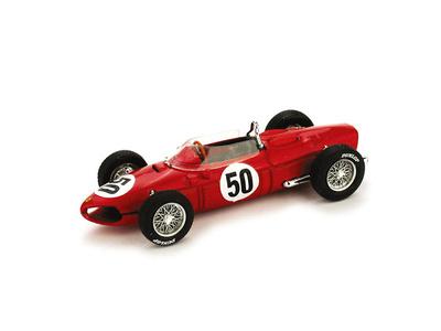 "Ferrari 156 F1 Dino ""1º GP. Francia"" nº 50 Giancarlo Baghetti (1961) Brumm 1/43"