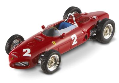 """Ferrari 156 F1 """"GP. Italia"""" nº 2 Phil Hill (1961) Hot Wheels 1/43"""