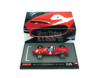 """Ferrari 156 F1 """"GP. Italia"""" nº 4 Wolfgang Von Trips (1961) Brumm 1/43"""