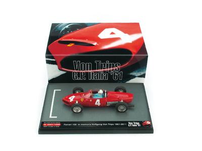 """Ferrari 156 F1 """"GP. Italia"""" nº 4 Wolfgang Von Trips (1961) Brumm S1103 1/43"""
