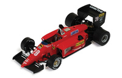 """Ferrari 156/85 """"GP. Brasil"""" nº 28 Rene Arnoux (1985) Ixo SF2485 1/43"""