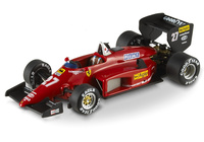 Ferrari 156/85 nº 27 Michele Alboreto (1985) Hot Wheels 1/43