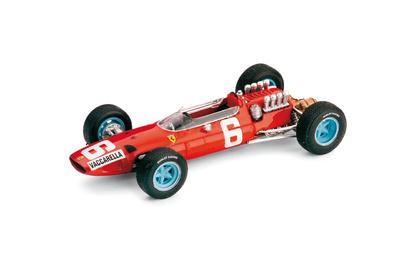 """Ferrari 158 F1 """"12º GP. Italia"""" nº 6 Nino Vaccarella (1965) Brumm 1/43"""