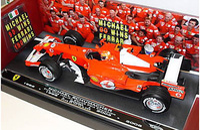 """Ferrari 248F1 """"GP. Italia"""" nº 5 Michael Schumacher (2006) Mattel 1/18"""