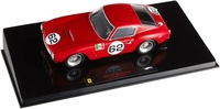 Ferrari 250 GT SWB Intereuropa nº 62 (1960) Hot Wheels 1/43