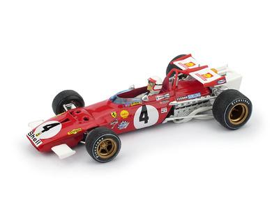 """Ferrari 312 B """"1º GP. Italia"""" nº 4 Clay Regazzoni (1970) Brumm 1/43"""
