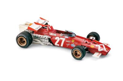 """Ferrari 312 B """"2º GP. Austria"""" nº 27 Clay Regazzoni (1970) Brumm 1/43"""
