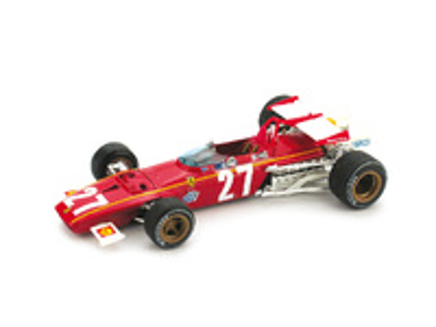 "Ferrari 312 B ""8º GP Belgica"" nº 27 Jacky Ickx (1970) Brumm 1/43"