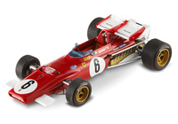 "Ferrari 312 B ""GP Sudáfrica"" nº 5 Mario Andretti (1971) Hot Wheels T6285 1/43"