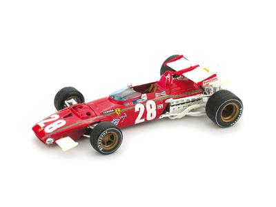"""Ferrari 312 B """"GP. Bélgica"""" nº 28 Ignacio Giunti (1970) Brumm 1/43"""
