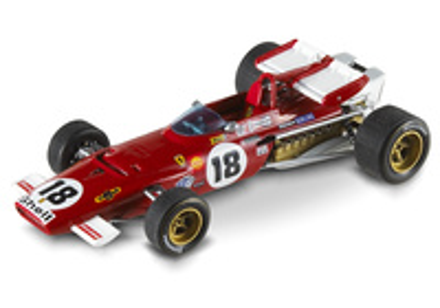 "Ferrari 312 B ""GP. Canada"" nº 18 Jacky Ickx (1970) Hot Wheels 1/43"