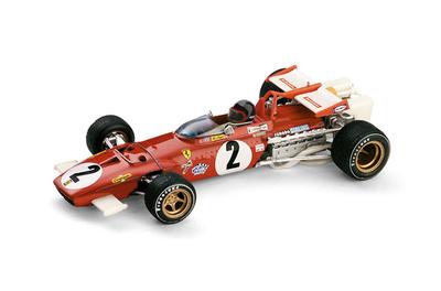 """Ferrari 312 B """"GP. Italia """" nº 2 Jacky Ickx (1970) Brumm 1/43"""