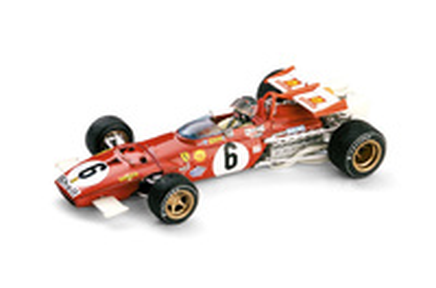 "Ferrari 312 B ""GP. Italia"" nº 6 Ignacio Giunti (1970) Brumm 1/43"