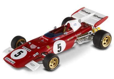"Ferrari 312 B2 ""GP. Alemania"" nº 5 Mario Andretti (1971) Hot Wheels 1/43"