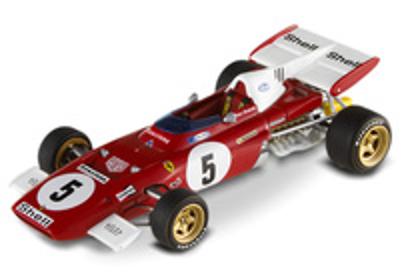 "Ferrari 312 B2 ""GP. Alemania"" nº 5 Mario Andretti (1971) Hot Wheels T6938 1/43"