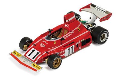 """Ferrari 312 B3/74 """"1º GP. Alemania"""" nº 11 Clay Regazzoni (1974) Ixo 1/43"""