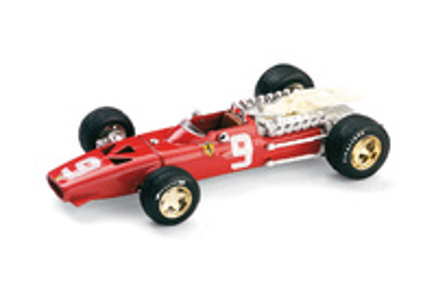 "Ferrari 312 F1 ""6º GP. Holanda"" nº 9 Chris Amon (1968) Brumm 1/43"