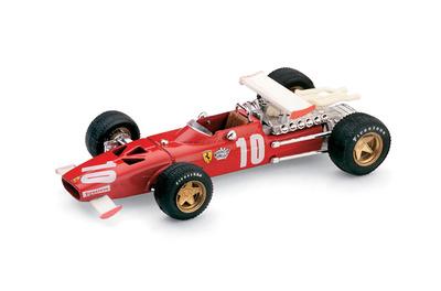 """Ferrari 312 F1 """"6º GP. Italia"""" nº 10 Pedro Rodriguez (1969) Brumm 1/43"""