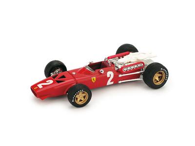 """Ferrari 312 F1 """"7º GP. Italia"""" nº 2 Chris Amon (1967) Brumm 1/43"""