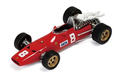 "Ferrari 312 F1 ""GP. Alemania"" nº 8 Chris Amon (1967) Ixo 1/43"