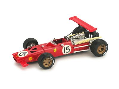 "Ferrari 312 F1 ""GP. España""  nº 15 Chris Amon (1969) Brumm 1/43"
