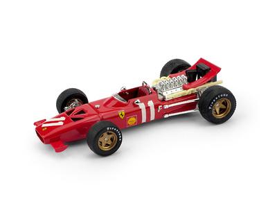 Ferrari 312 F1 GP. Montecarlo nº 11 Chris Amon (1969) Brumm 1/43
