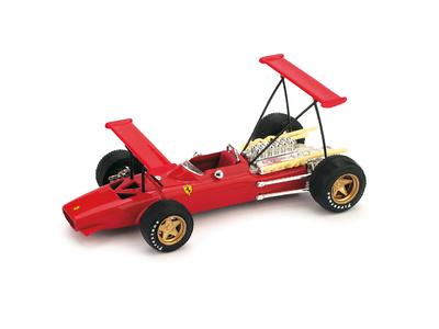 "Ferrari 312 F1 ""Probando Alerones"" (1969) Brumm 1/43"