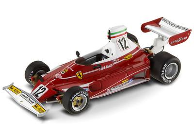 "Ferrari 312 T ""GP. Italia"" nº 12 Niki Lauda (1975) Hot Wheels 1/43"